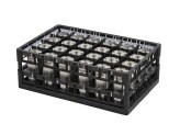 PA Korb - heavy duty - Toprahmen - 2 variable Facheinteilungen - Techrack