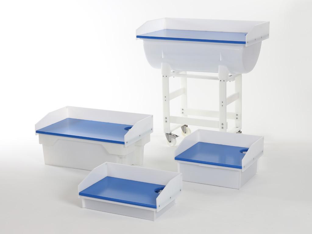 fahrbares tischgestell aus kunststoff transoplast gmbh. Black Bedroom Furniture Sets. Home Design Ideas