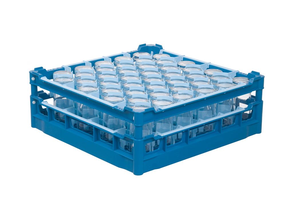 Gläserkorb 500 x 500 mm - Glashöhe von 110 mm bis 180 mm ...
