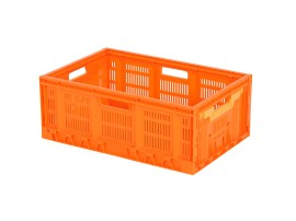 FRESH BOX Klappbehälter - 600 x 400 x H 233 mm - Orange